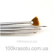 Набор кистей для рисования Lker - 4 шт/уп -плотная уп. фото