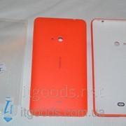 Крышка задняя оранжевая для Nokia Lumia 625 + ПЛЕНКА В ПОДАРОК 3117 фото