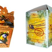Упаковка для новогодних подарков фото