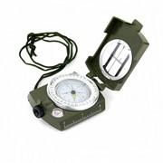 Компас военный линзовый с призмой и жидкостным уровнем , модель CP-DZT-3605 фото