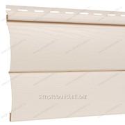 Блок Хаус виниловый «FineBer», слоновая кость фото