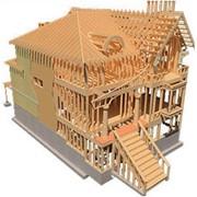 Строительство деревянных конструкций фото
