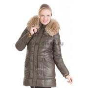 Куртка Mishele 9907 хаки фото