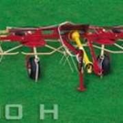 Вспушиватель 4-х роторный, прицепной фото