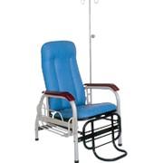 Кресло для переливаний BLY-I (b), двухсекционное, с телескопической инфузионной стойкой фото