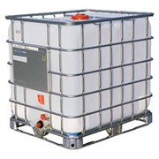 Новые пластиковые емкости 1000 литров в металлической обрешетке на поддоне (еврокуб) фото