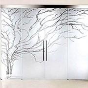 Пескоструйная обработка стекла и зеркал фото