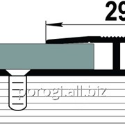 Стыковочный порог для ламината: порог ПС15 фото