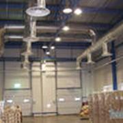 Установка вентиляционных систем. фото