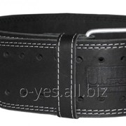Пояс для пауэрлифтинга кожаный OS-0315-1 фото