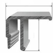 Профиль алюминиевый потолочный фото