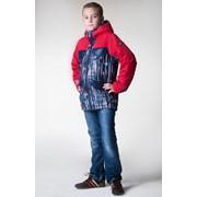 Куртка утеплённая для мальчика на мембране Бостон, артикул 0115-19 фото