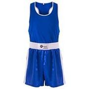 Форма боксерская детская Rusco BS-101 синий р.34 фото