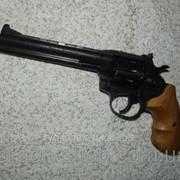 Револьвер под патрон Флобера Сафари РФ-461 с буковой рукоятью фото