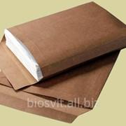 Конверт-пакет бумажный крафт с расширением с4 скл фото