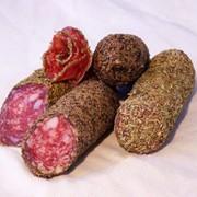 Миланская колбаса сырокопченая фото