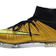 Футбольные бутсы Nike Mercurial Superfly FG Золотистый фото