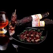 Колбаса сыровяленая «Казы» фото