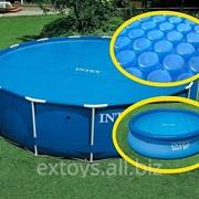 29025 INTEX Теплосберегающее покрытие тент для бассейна 549 см фото