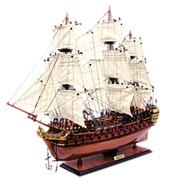 Модель парусника HMS Bellona, Англия фото