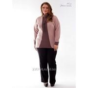 Туника 1424-1 Розовый цвет фото