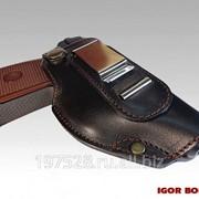 Кобура для пистолета Макарова поясная модель Pilot Luxe фото