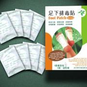 Пластырь на стопы для выведения токсинов, Антиоксидантный пластырь фото