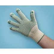 Перчатки рабочие, 4-х нитка 7,5 класс, ПВХ фото
