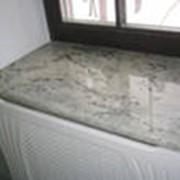 Подоконники из камня фото