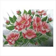"""Набор для вышивания ''Шиповник цветет"""". Бисер Код: ТН-411 фото"""