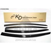 Дефлектор окон черный по 3 компл в упаковке Kyoung Dong, кросс_номер K-901-129 фото