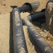 Прокладка дюкера на строительстве газопровода фото