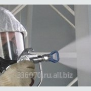 Огнезащитная обработка металлоконструкций фото