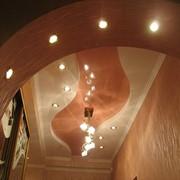 Потолки от подвесных до натяжных, каркасных и фигурных фото