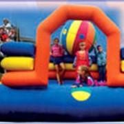 Площадка надувная детская фото