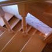Лестницы элитные из дуба фото