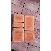 Плитка тротуарная Старый город персиковый цвет фото