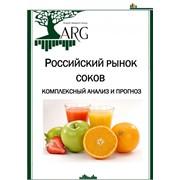 Маркетинговое исследование: Российский рынок соков: комплексный анализ и прогноз фото