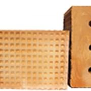 Кирпич керамический рядовой утолщенный пустотелый фото
