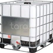 Еврокуб 1000 литров на комбинированном поддоне Арт.UC 1000 комб фото