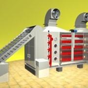 Сушилки конвейерные ленточные паровые марки Г4-КСК фото