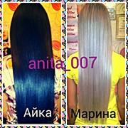 Качественное наращивание волос фото