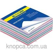 Блок бумаги для записей «Радуга», не склеенный, 80х80, 220 листов фото