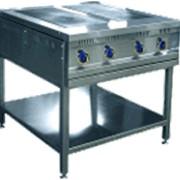 Электроплита ЭПК-48П предназначена для приготовления горячих блюд в налитой посуде. Используется на предприятиях общественного питания самостоятельно или в составе технилогических линий фото