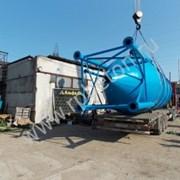 Силос цемента БСУ бетонного завода фото
