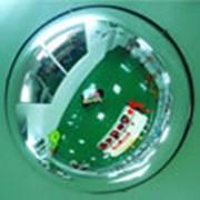 Зеркало купольное D120см*360 фото