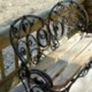 Мебель кованая уличная фото