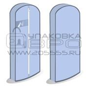 Чехол для одежды - объемный, с окном cheh25 фото
