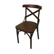 Деревянный венский стул Римио с жестким сидением фото