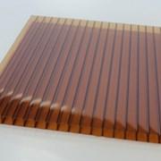 Сотовый поликарбонат 8 мм цветной фото
